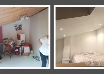 Rénovation d'une chambre mansardée au Havre (76)