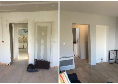 Rénovation complète d'un appartement sur Le Havre