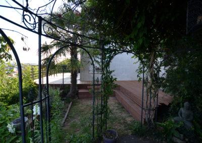 Création d'une terrasse sur pilotis au Havre (76)