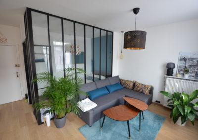 Rénovation complète d'un studio sur Le Havre (76)