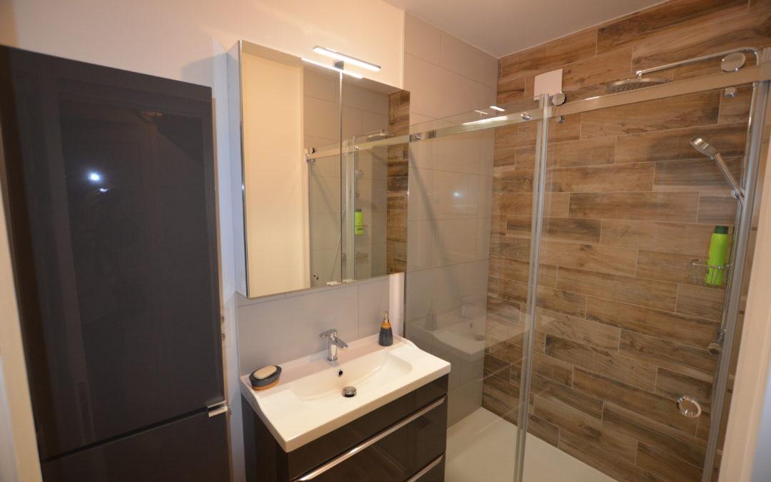 Rénovation d'une salle de douche sur Le Havre (76)