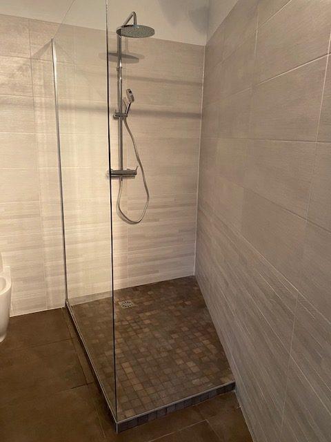 douche carrelée