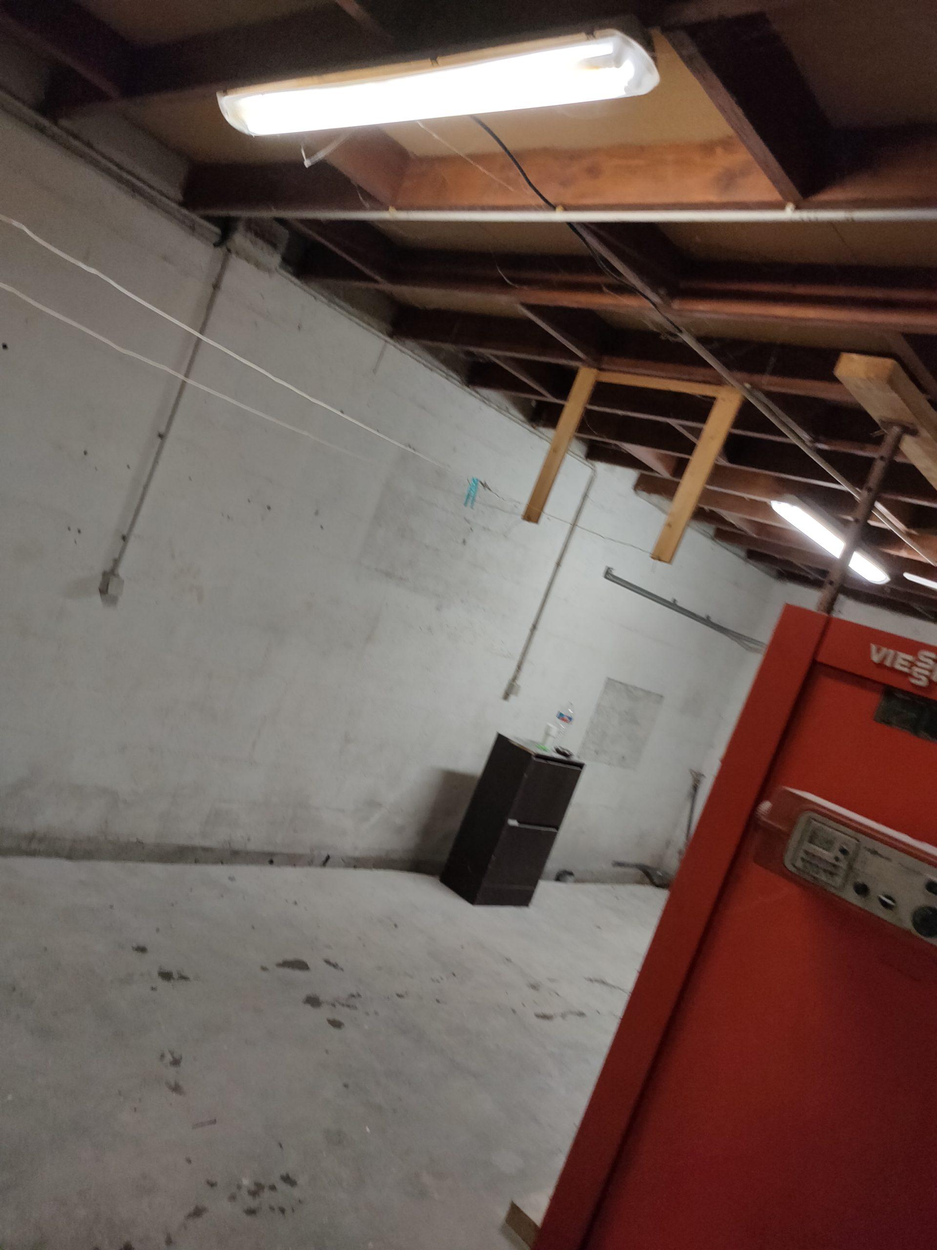 garage avant travaux