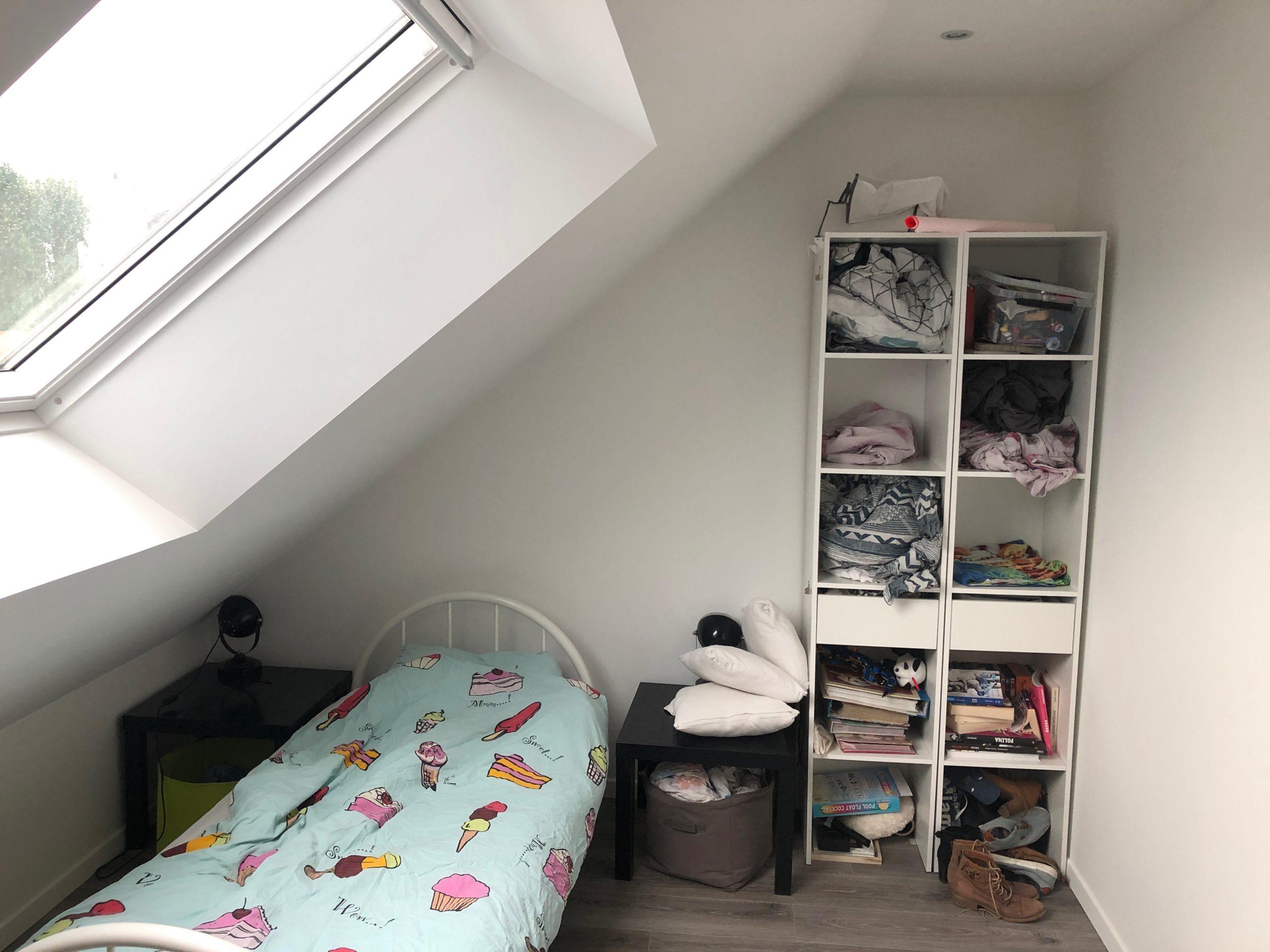 chambre d'enfant sous rampant