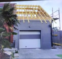 garage avant rénovation